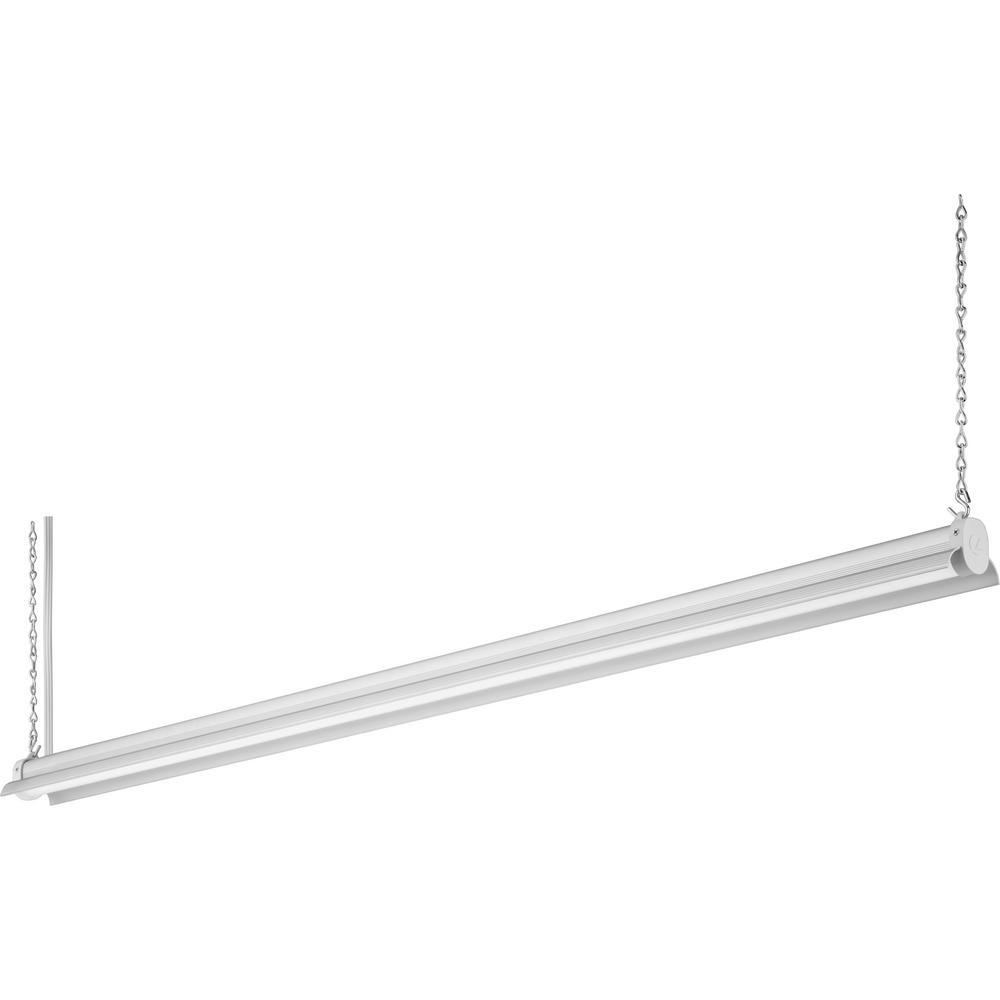 Integrated LED Shop Light Natural Aluminum 4 Ft 36 Watt