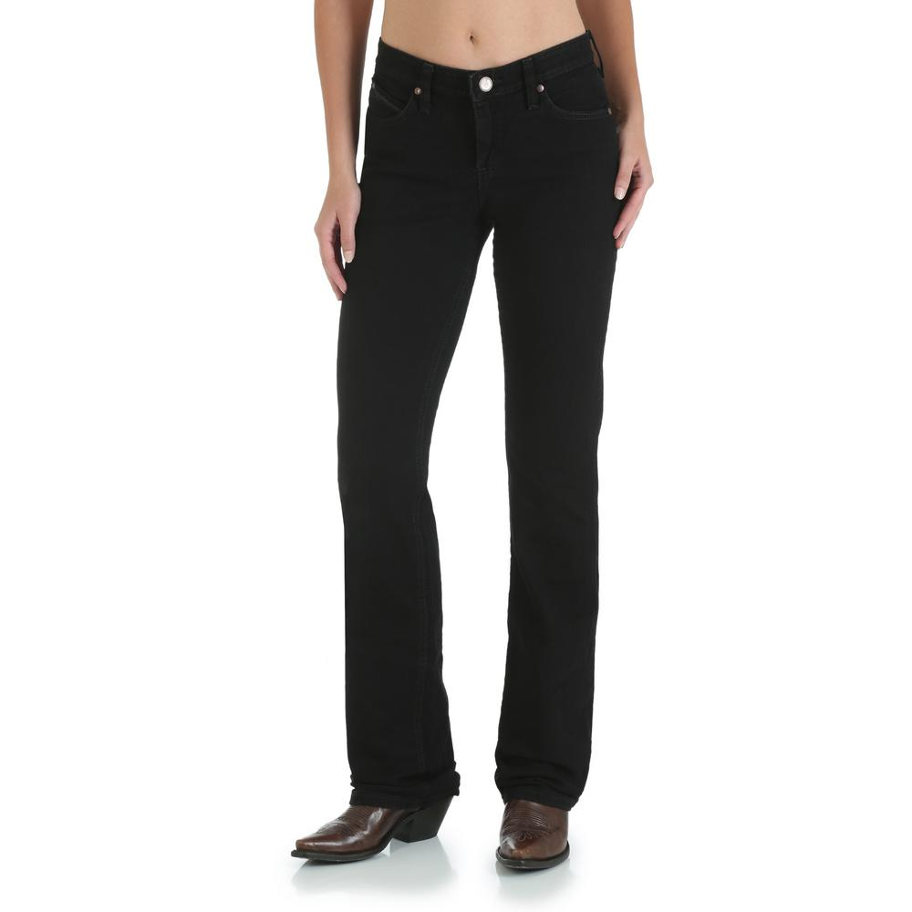 d66823c6161 Wrangler Women s 20x32 Black Ultimate Riding Jean-WRQ20BL - The Home ...