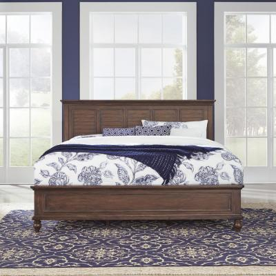 Southport Dark Aged Oak Brown King Bed