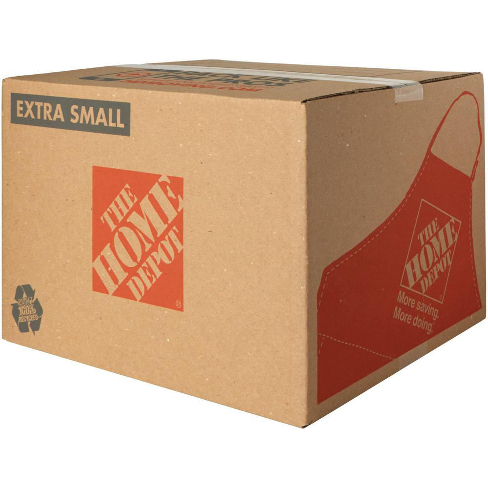 The Home Depot 15 in. L x 12 in. W x 10 in. Extra-Small Moving Box