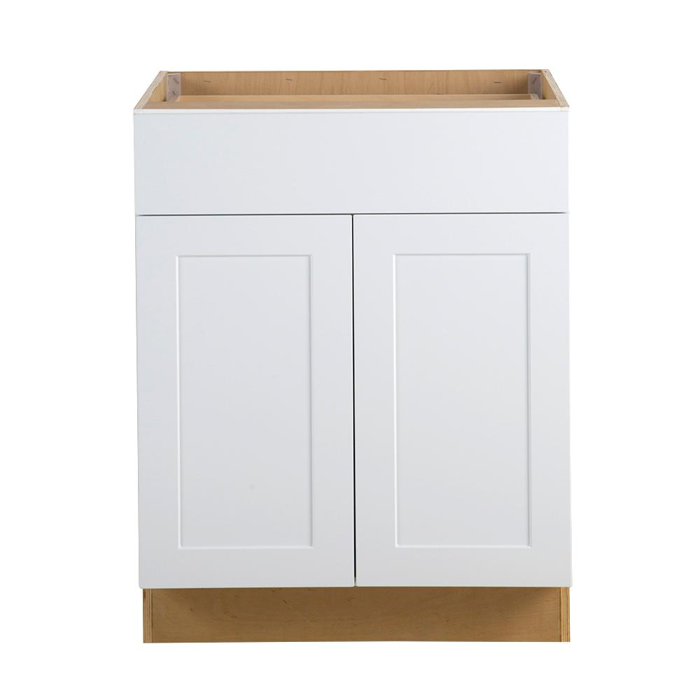Hampton Bay Cambridge Assembled In All Plywood Base Cabinet With Soft Close Full