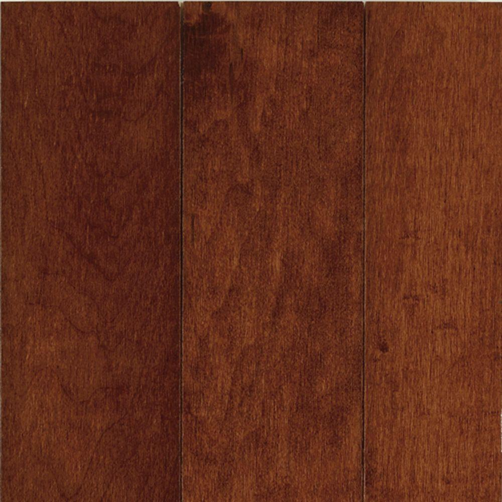 Bruce Take Home Sample Prestige Maple Cherry Solid Hardwood Flooring 5 In. X 7 In., Red