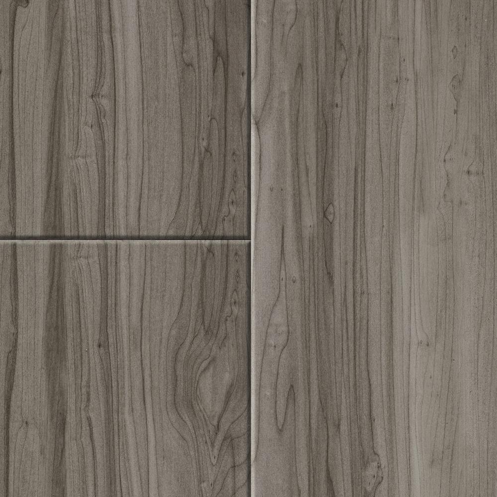 TrafficMASTER Take Home Sample - Allure Plus Grey Maple Luxury Vinyl Flooring - 4 in. x 4 in.