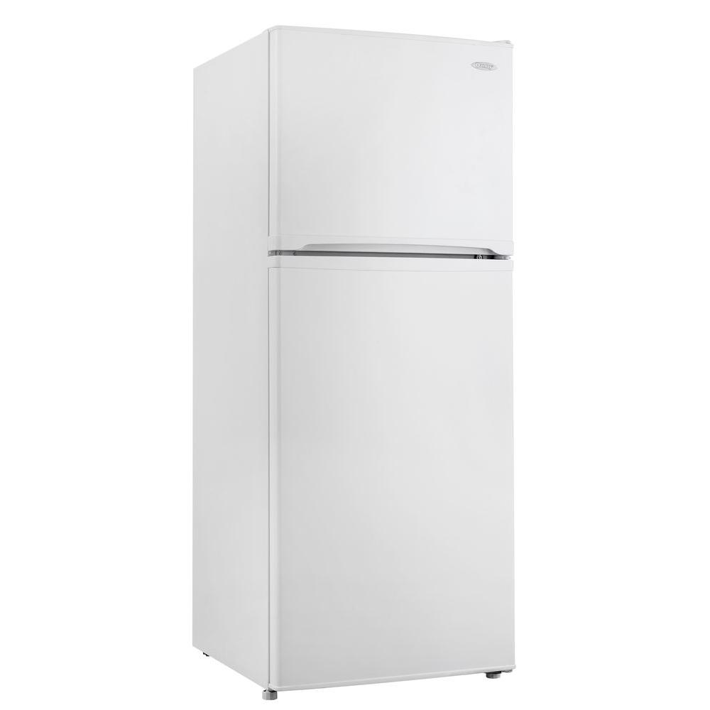 Danby 9.9 cu. ft. Top Freezer Refrigerator in White, Counter Depth