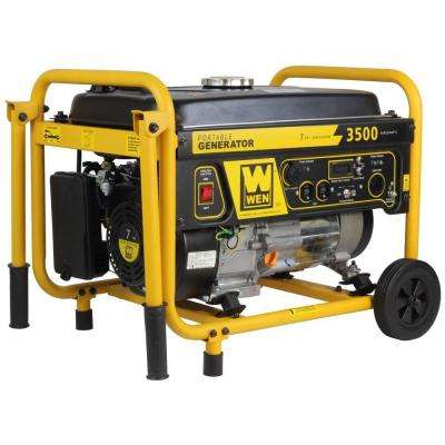 3,500-Watt Gas Generator with Wheel Kit