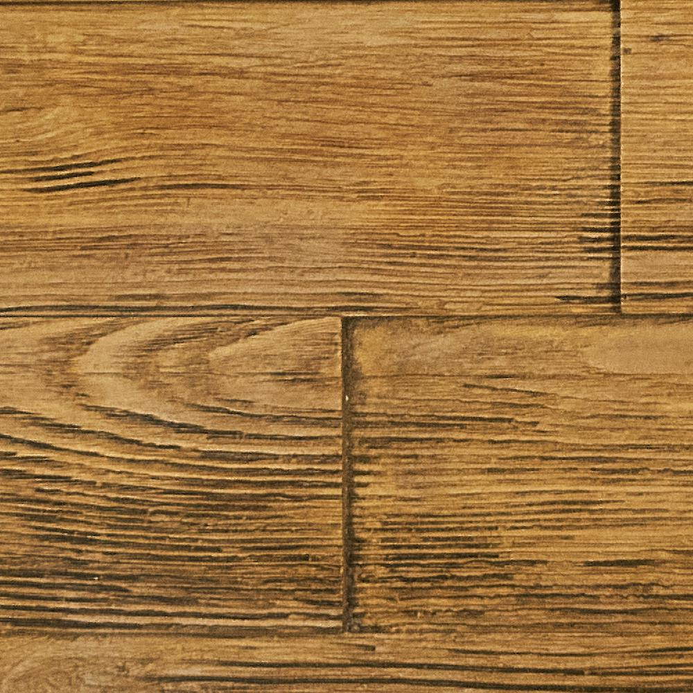 Superior Building Supplies Superior Raised Grain 10 in. x 10 in. Faux Transitional Panel Siding Sample Fall Leaf Brown This is a sample of the Superior Faux Raised Grain Wood Panel. The sample is a cut out of the actual panel finished in our Fall Leaf Brown stain. The product size is approximate 10 in. x 10 in. Sample size may vary slightly. Each panel and sample are hand finished creating a natural wood feel. The tone may slightly vary. Due to every monitor have different color adjustments, we always suggestion ordering a sample for color verification.