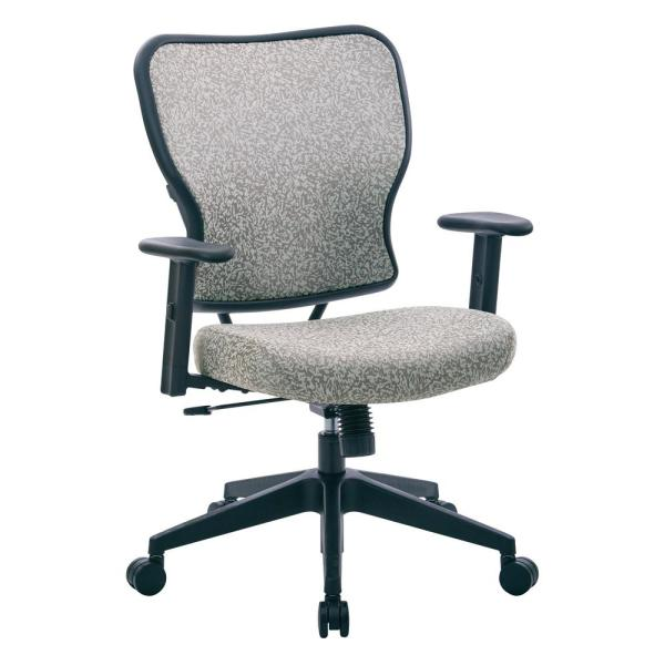 Deluxe 2 to 1 Teal Fabric Mechanical Height Adjustable Arms Chair