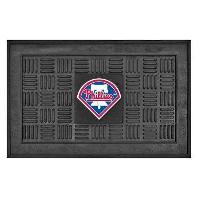 Philadelphia Phillies 18 in. x 30 in. Door Mat