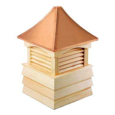 Sherwood 36 in. x 51 in. Wood Cupola with Copper Roof
