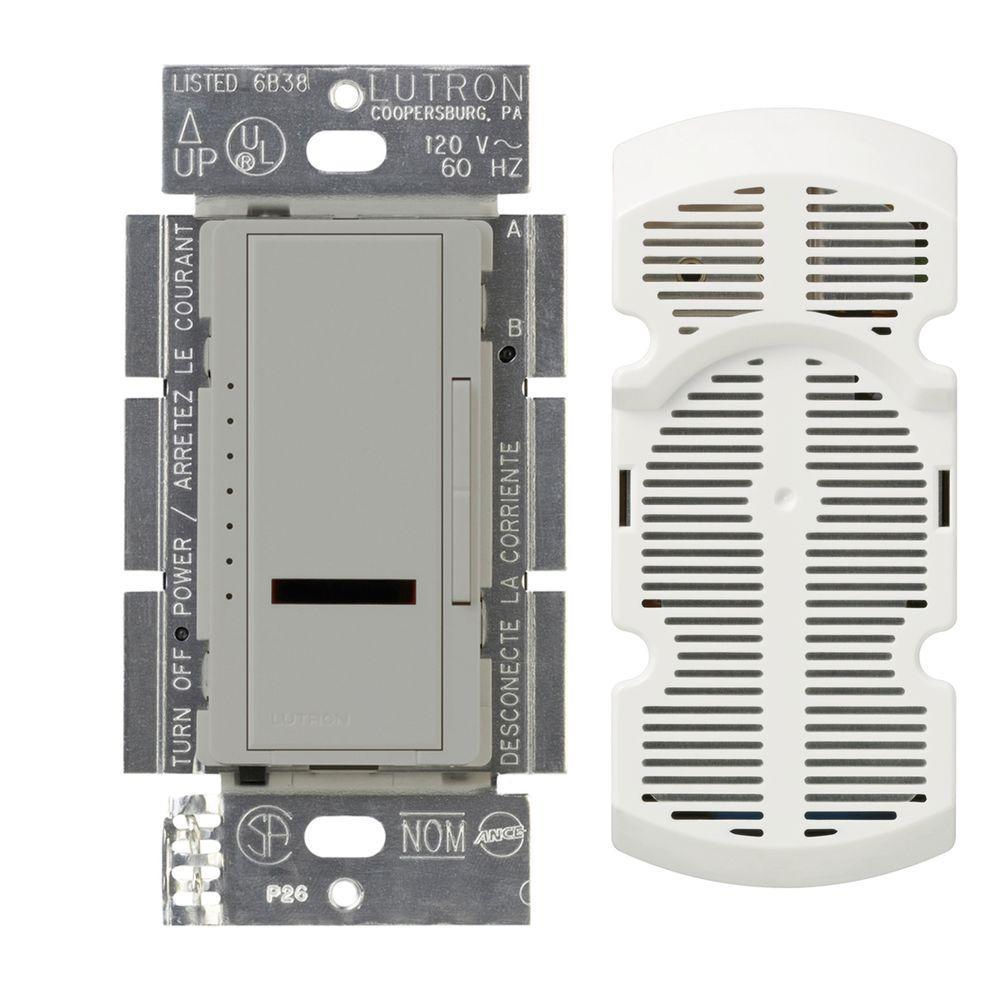 Lutron Maestro IR Multi-Location 7-Speed Digital Fan Control - Gray