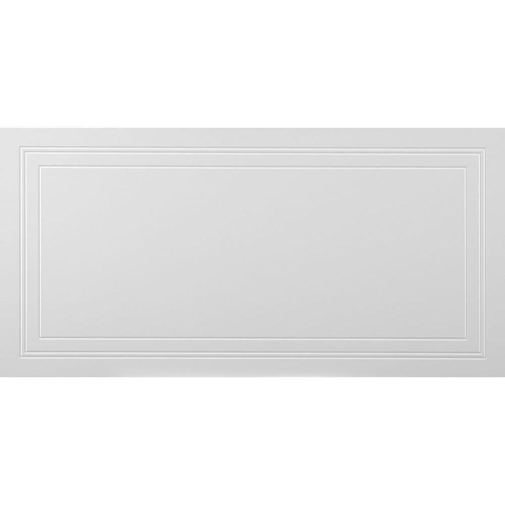 MONO SERRA Wall Design 2 ft. x 4 ft. Aria Suspended Grid Panel Ceiling Tile (32 sq. ft. / case)