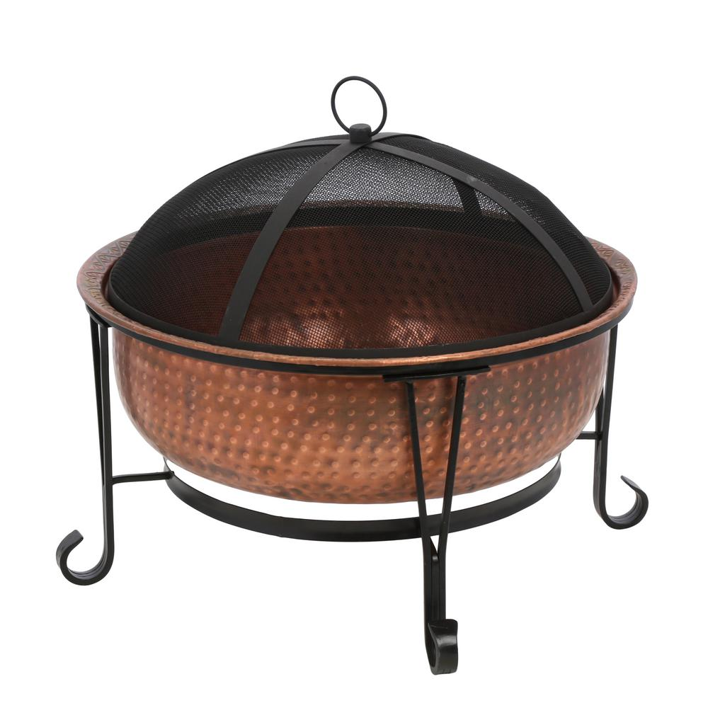 Gilbert & Bennett Vintage Copper Fire Pit