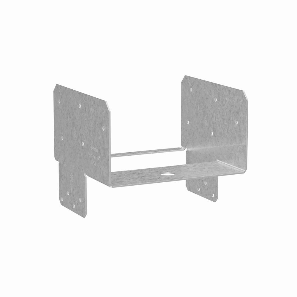 Simpson Strong-Tie EPCZ ZMAX® Galvanized End Post Cap for 6x