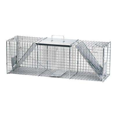 10 in. W x 36 in. L x 12 in. H 2-Door Raccoon Trap