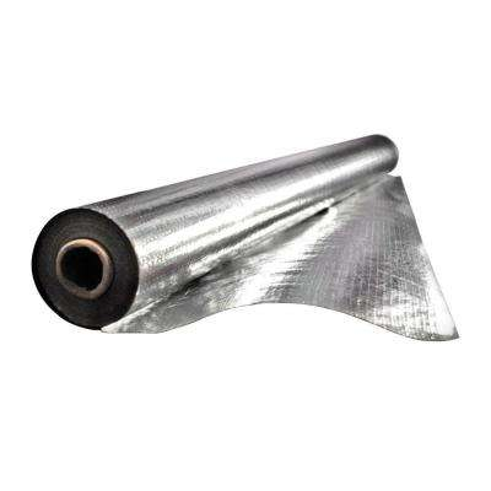 Installed Fi-Foil Silver Shield Attic Radiant Barrier