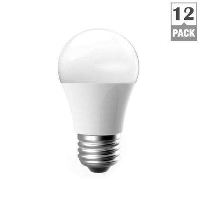 60-Watt Equivalent A15 Dimmable LED Light Bulb, Soft White (12-Pack)