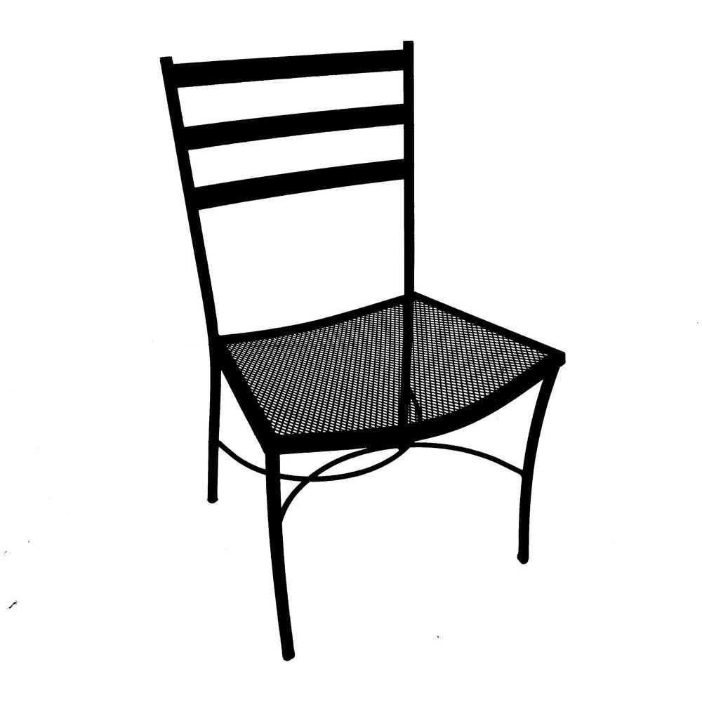 Arlington House Winfield Commercial Grade Patio Side Chair (2-Pack)-DISCONTINUED