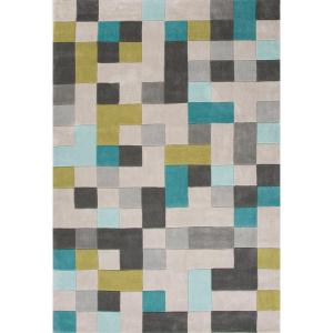 Jaipur Living Hand-tufted poly Wind Chime 5 ft. x 7 ft. 6 inch Tribal Area Rug by Jaipur Living