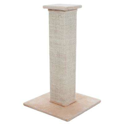28 in. Tall Sisal Burlap Cat Scratching