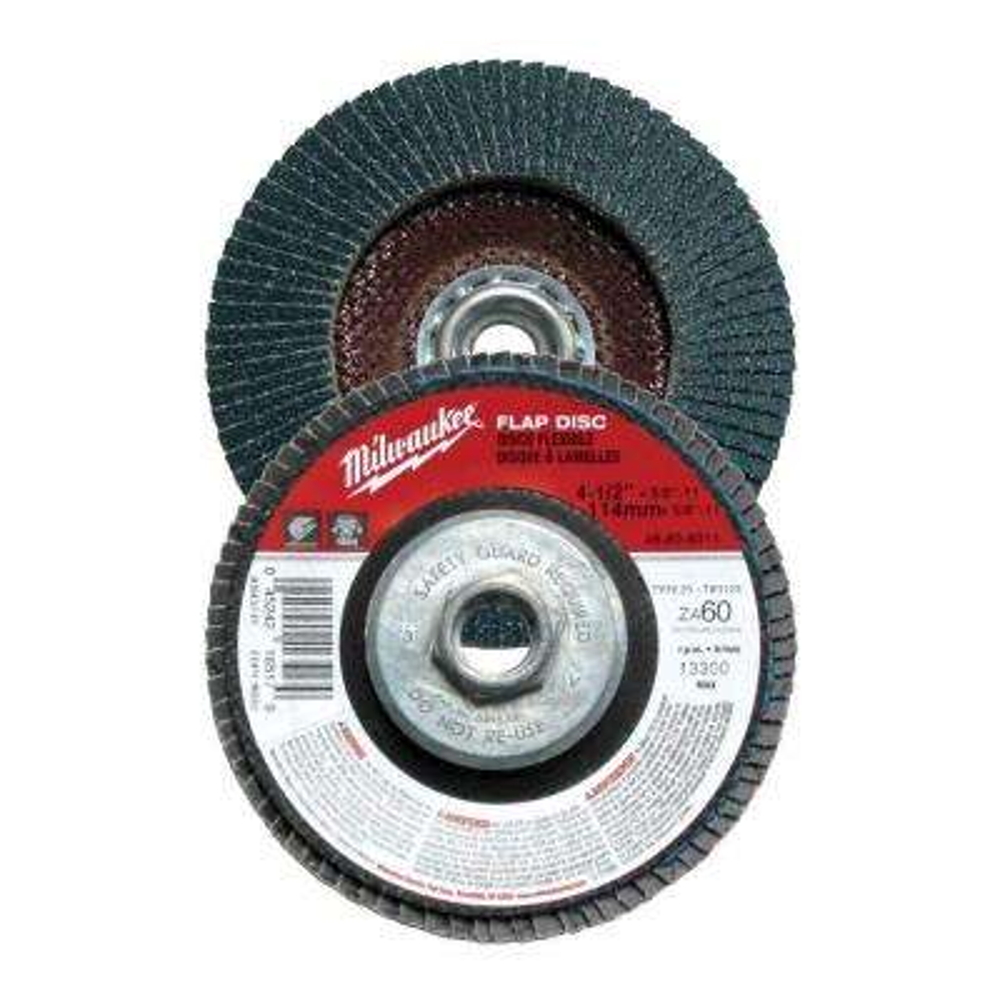 4-1/2 in. x 5/8 in.-11 in. 60-Grit Flap Disc (Type 29)