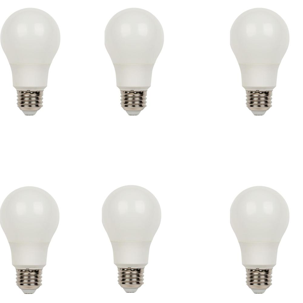 Westinghouse 40W Equivalent Daylight Omni A19 LED Light Bulb (6-Pack)