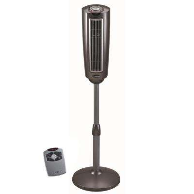 52 in. Space-Saving Pedestal Fan with Remote Control