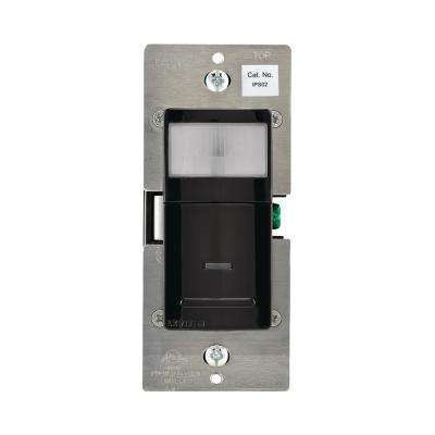 180° Pir-Incandescent-CFL-LED Occupancy Detector, Black