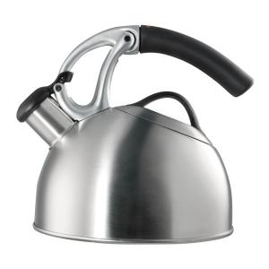 Click here to buy OXO Good Grips 8-Cup Brushed Stainless Steel Tea Kettle by OXO.