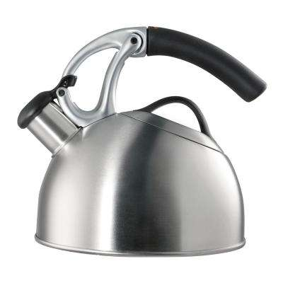 Good Grips 8-Cup Brushed Stainless Steel Tea Kettle