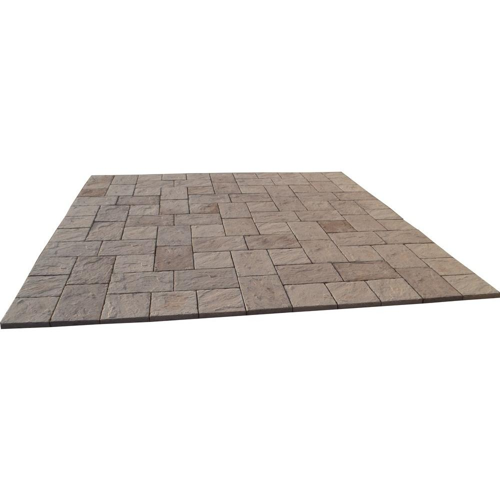 Captivating San Juan Blend Heritage Stone Paver Patio On