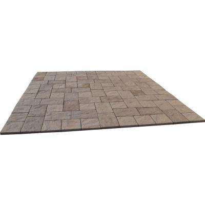 11 ft. x 11 ft. San Juan Blend Heritage Stone Paver Patio-on-a-Pallet