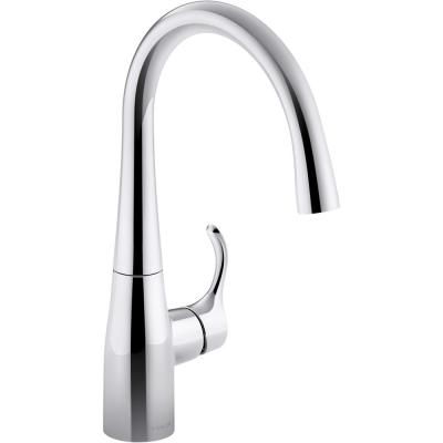 Simplice Single-Handle Bar Faucet in Polished Chrome