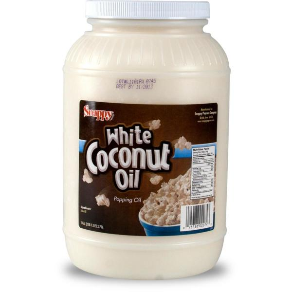 1 Gal. Snappy White Coconut Oil