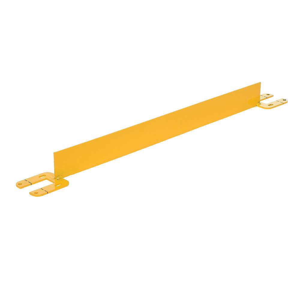 36 in. Long Steel Toeboard for Safet Railing