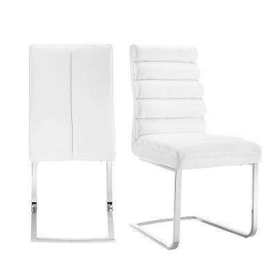 Soho White Upholstered Dining Chair (Set of 2)