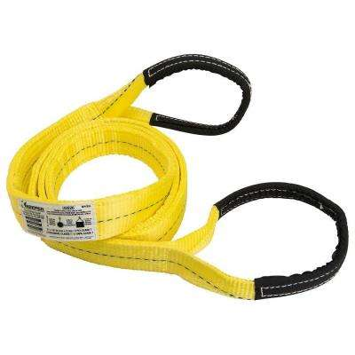 2 in. x 10 ft. 2 Ply Flat Loop Lift Sling