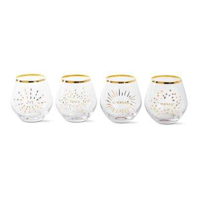 4 oz. Holiday Spirits Glasses (4-Pack)