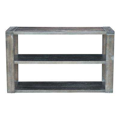 Skyline Gray Console Table