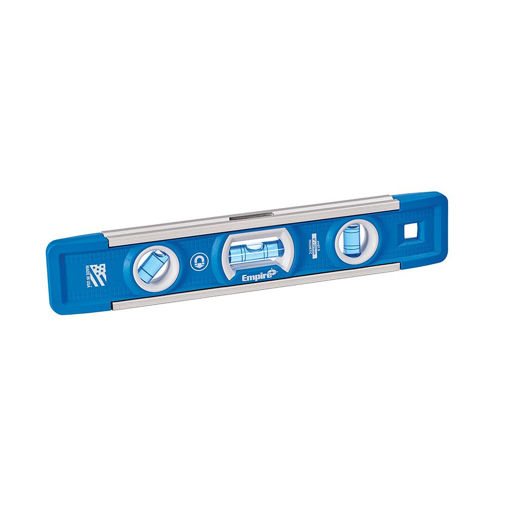 Empire True Blue 9 in. Professional Torpedo Level