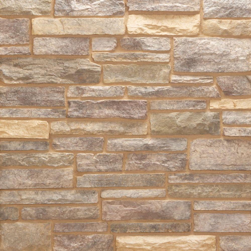 Pacific Ledge Stone Secoya Flats 150 sq. ft. Bulk Pallet Manufactured Stone