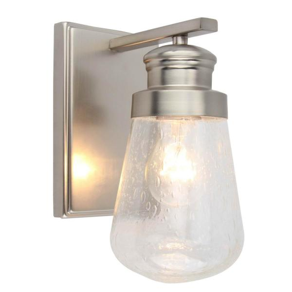 1-Light Vanity Lighting in Brushed Nickel