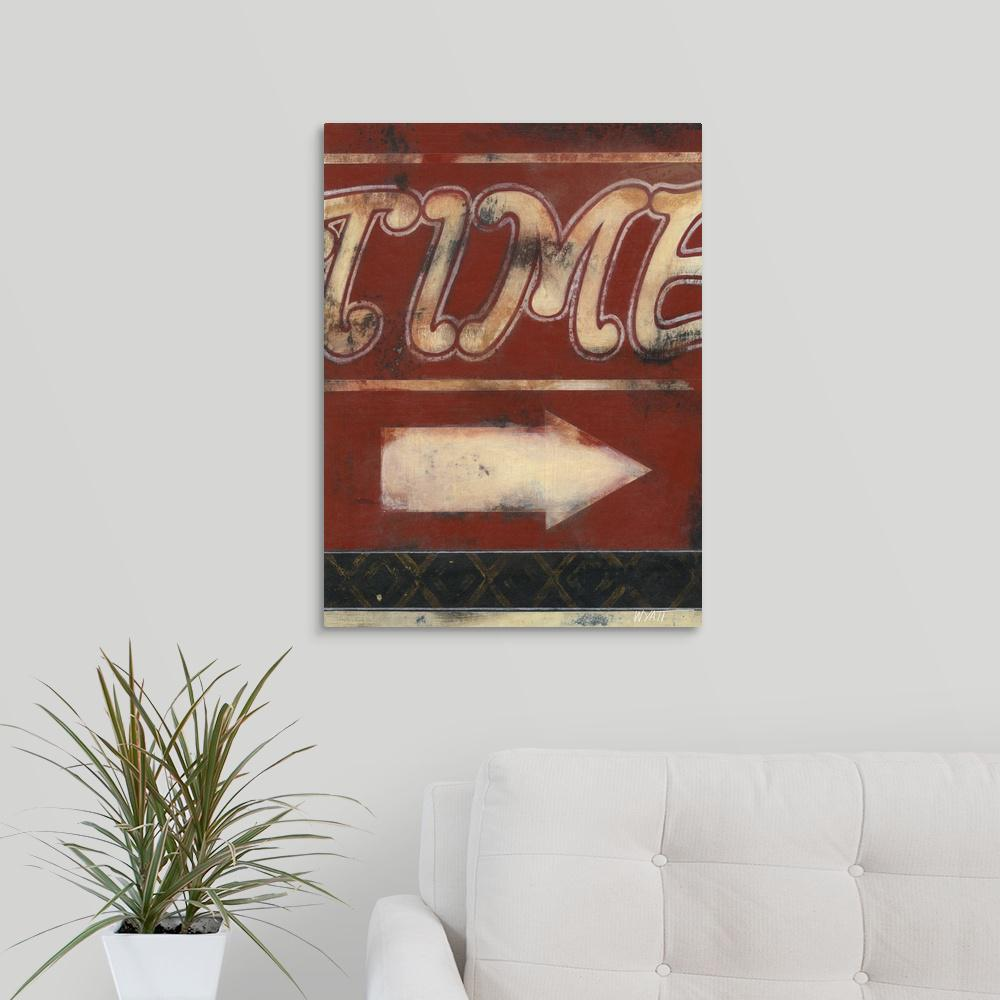 """Time Inspires"" by Norman Wyatt Canvas Wall Art"