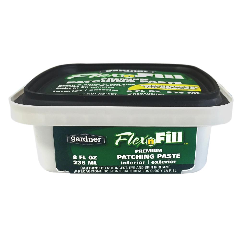 Gardner 8 Oz Flex N Fill Premium Patching Paste 8874 Ga