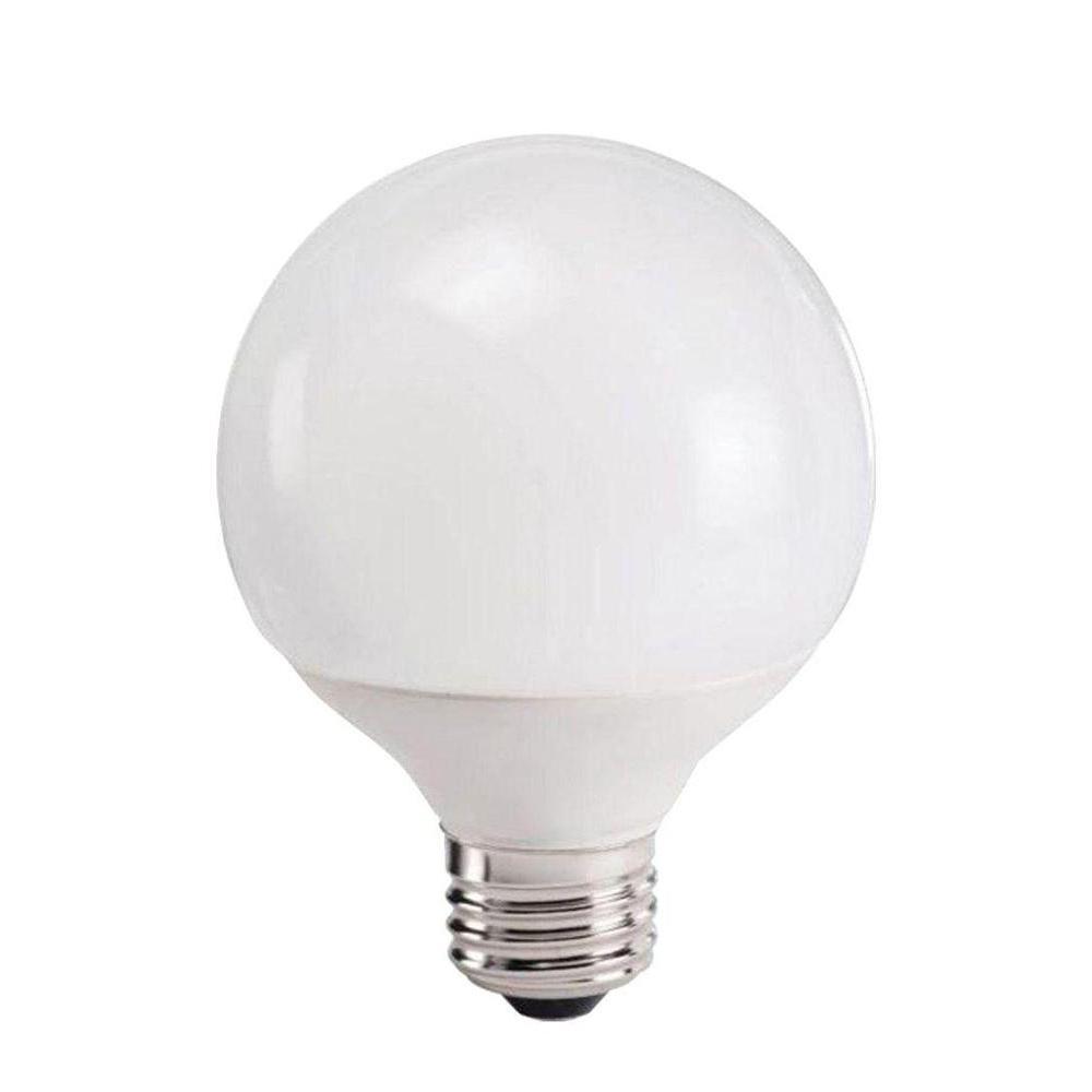 Philips 40W Equivalent Soft White (2700K) G25 Globe Decorative CFL Light Bulb