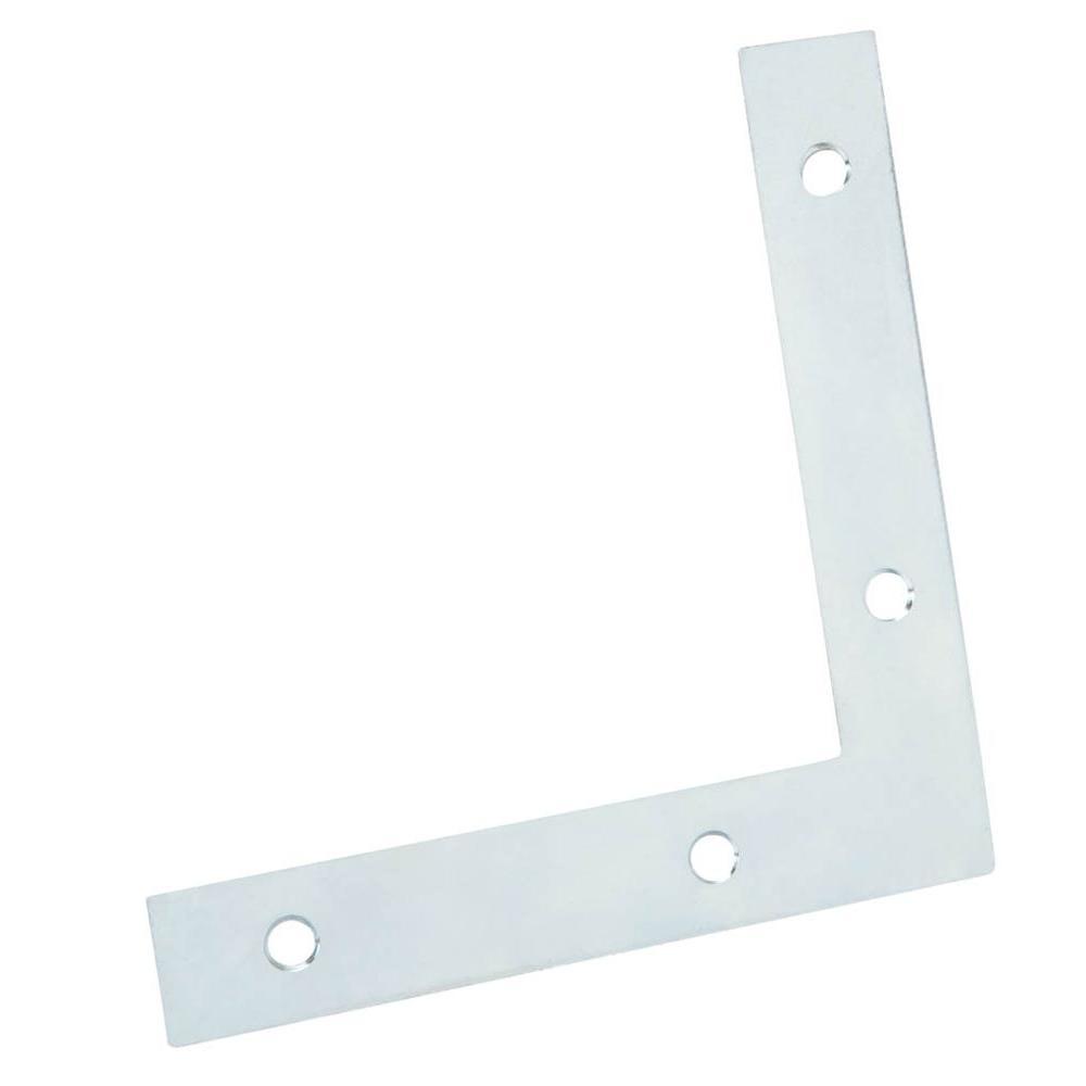 Everbilt 5 in. Zinc-Plated Flat Corner Brace