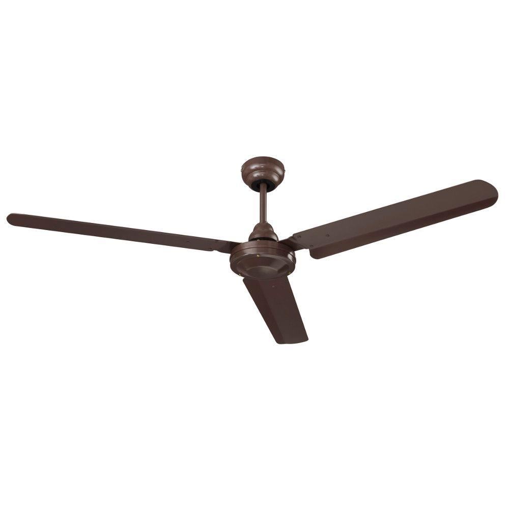 indoor brown ceiling fan