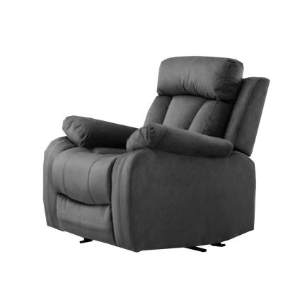 Charlie Gray Reclining Media Chair
