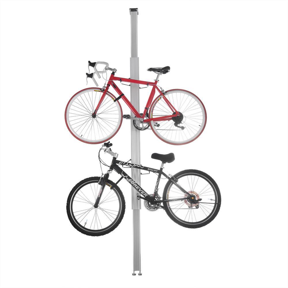 2-Bike Aluminum Bike Rack