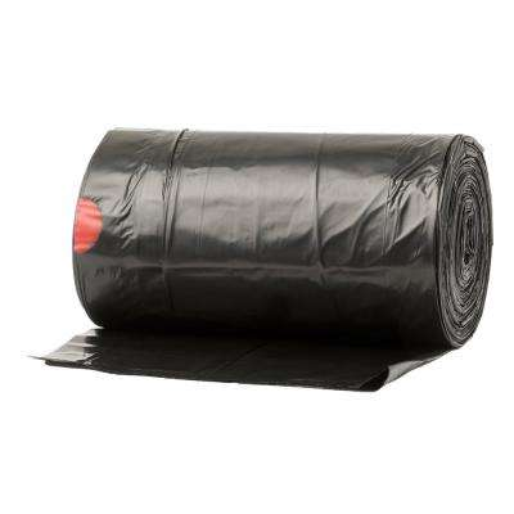 33 Gal. Black Large Drawstring Trash Bags (86-Count)
