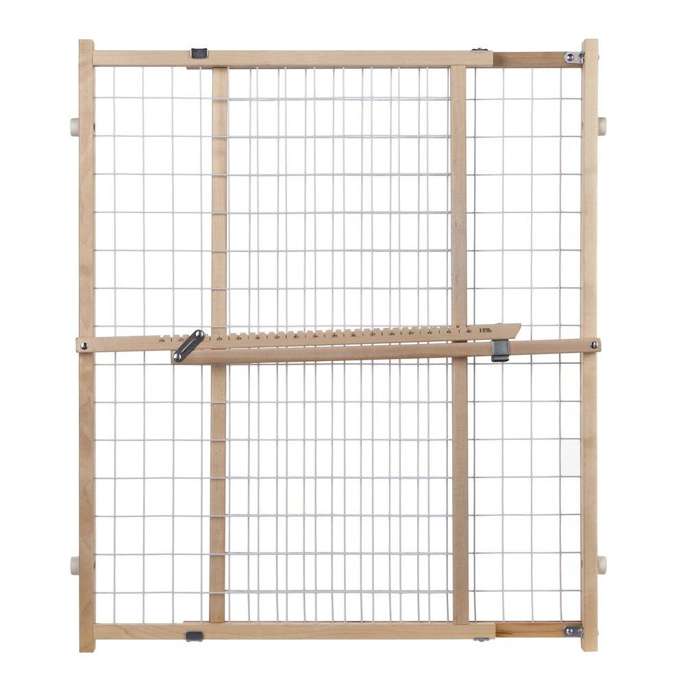 Wide Wire Mesh Gate 4615 The Home Depot